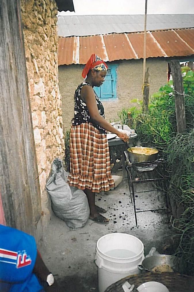 Cuisine au charbon de bois